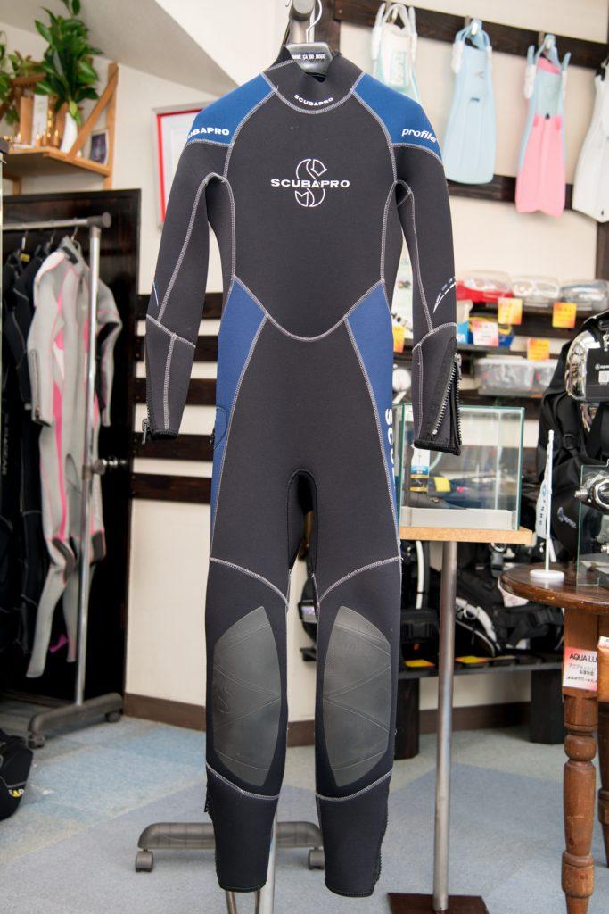 【SCUBAPRO】2.5mmウェットスーツ